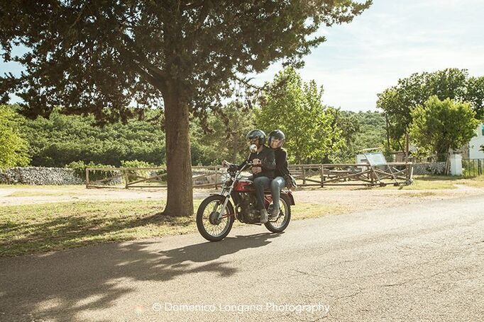 enagagement on moto guzzi
