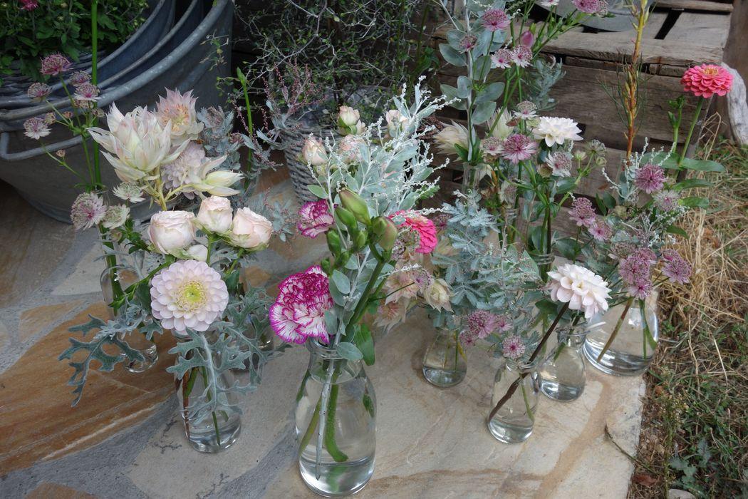 So sweet... mariage vert menthe et rose pâle... septembre 2017