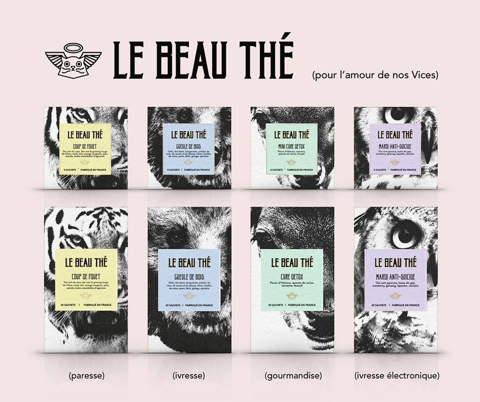 Le Beau Thé - les sachets de thé personnalisables