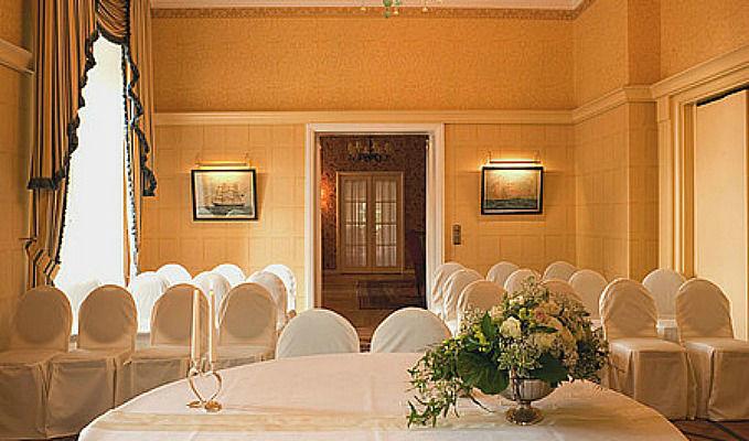 Beispiel: Trauungszeremonie, Foto: Romantik Hotel Kieler Kaufmann.