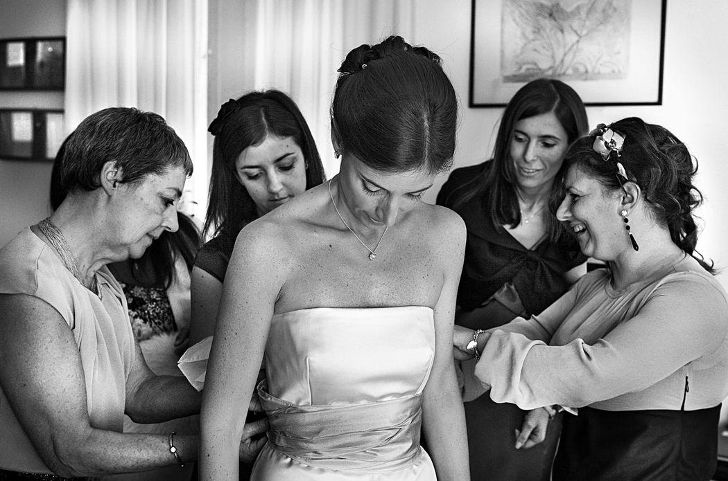 Preparativi sposa a Milano