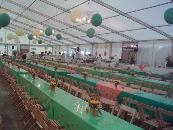 Beispiel: Große Partygesellschaften, Foto: Linials Catering.