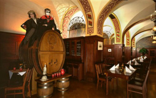 Beispiel: Fass im Restaurant Großer Keller, Foto: Auerbachs Keller.