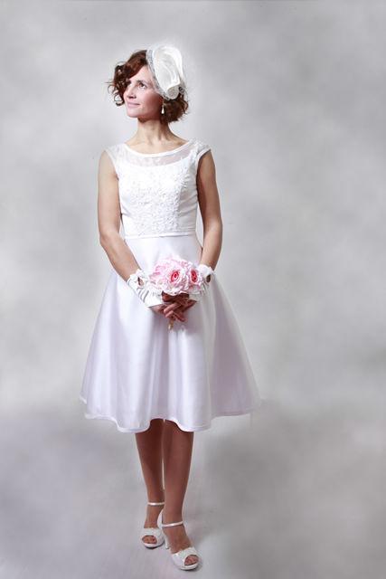 Beispiel: Brautkleid, Foto: Hochzeitssalon Lysann.