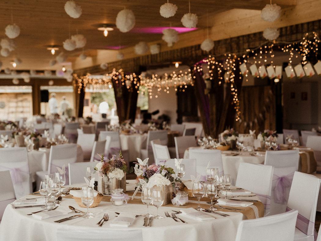 Hochzeit im Heugade auf dem Bächlihof