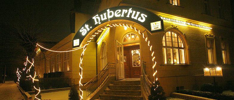 Beispiel: Außenansicht, Foto: Gasthaus St. Hubertus.