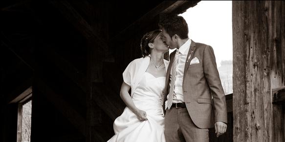 Beispiel: Romantische Hochzeitsfotos, Foto: sunGallen.