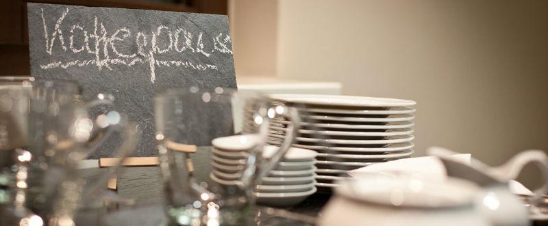 Beispiel: Kaffeetafel, Foto: Schlosshotel Rettershof.
