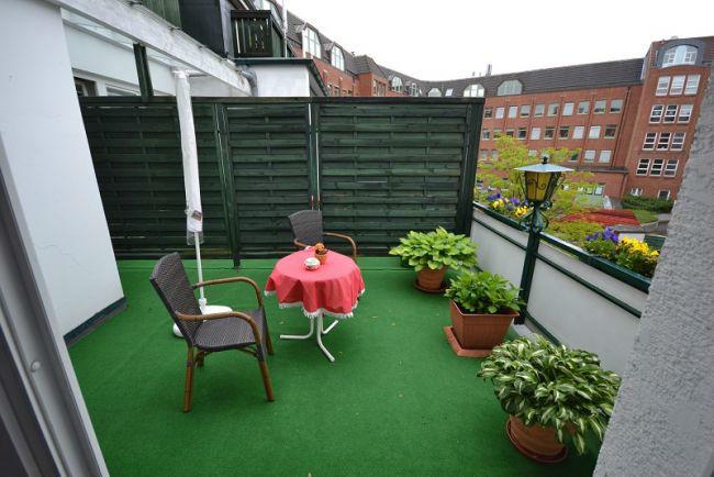 Beispiel: Dachterrasse, Foto: Hotel Consul.