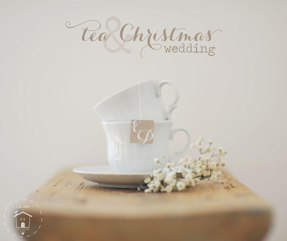 Dettagli di un Tea & Christmas wedding