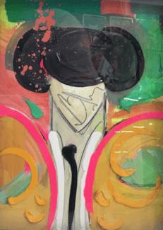 Torero 43 x 32 cm Óleo sobre tabla
