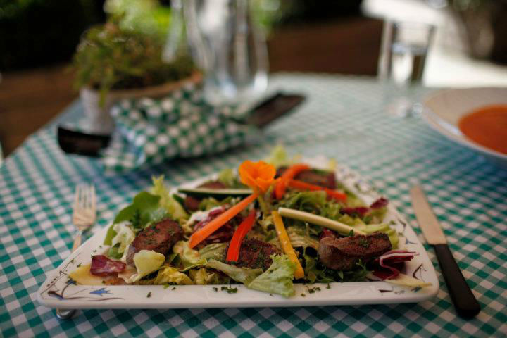 Beispiel: Speisen, Foto: Landgasthof Bären Madiswil.