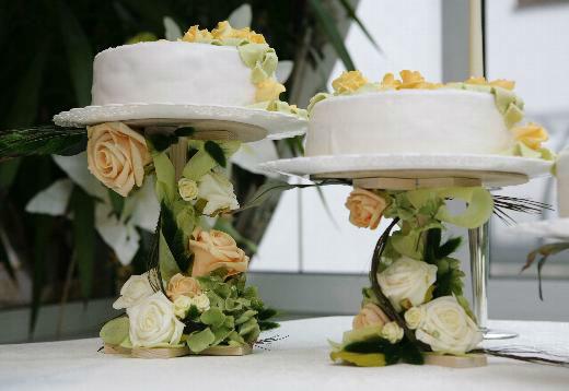Beispiel: Hochzeitsfloristik, Foto: Antjes Floristik Atelier.