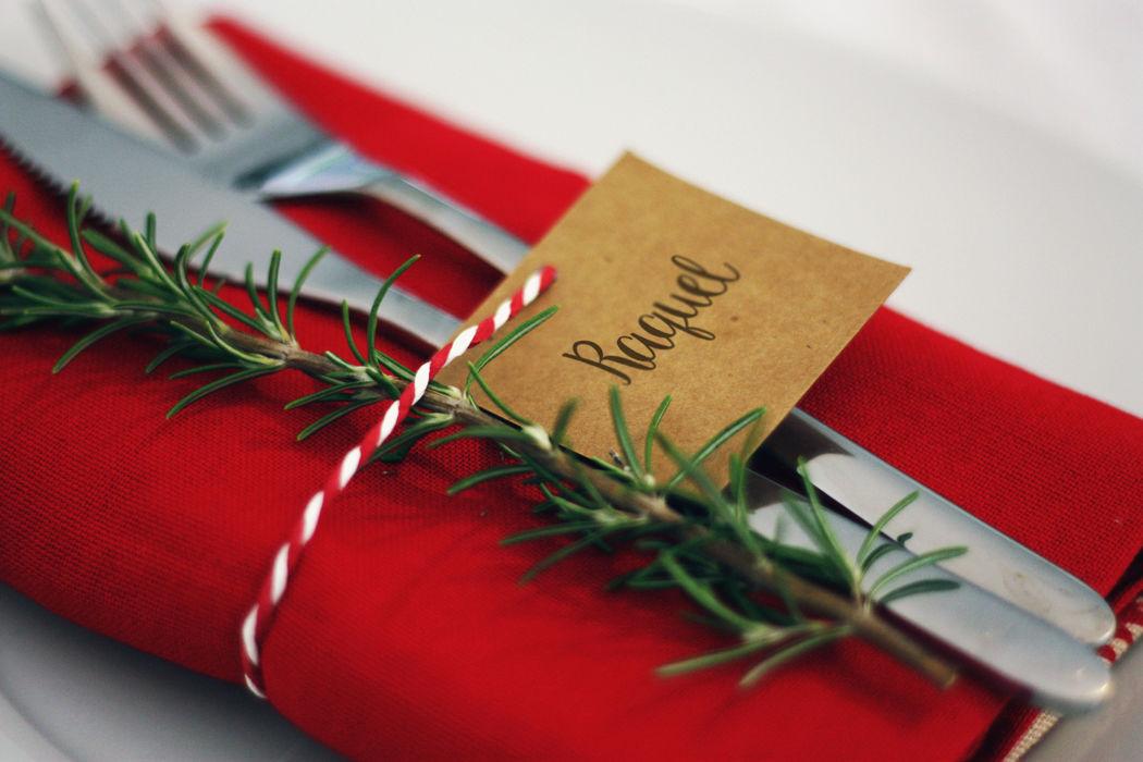Um Conto de Natal - Marcador de Mesa