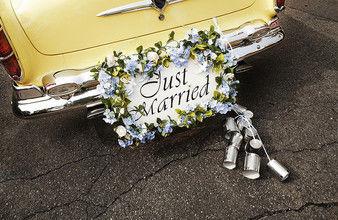Beispiel: Hochzeitsauto, Foto: AKZENT Hotel Tietmeyer.