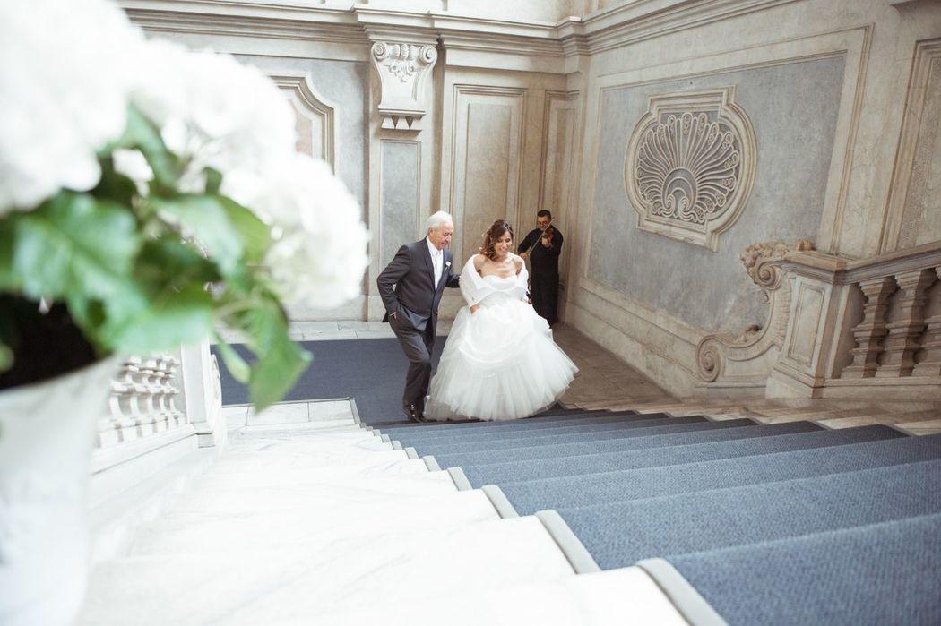 Musica per matrimoni a Torino. Violino viola violoncello