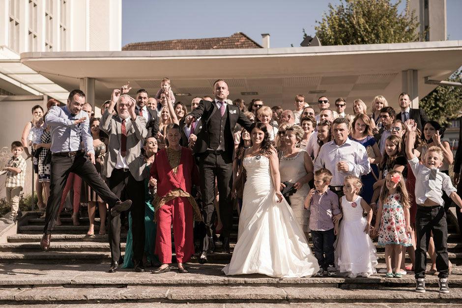 Beispiel: Fotos von der Hochzeitsgesellschaft, Foto: 0816 Pictures.