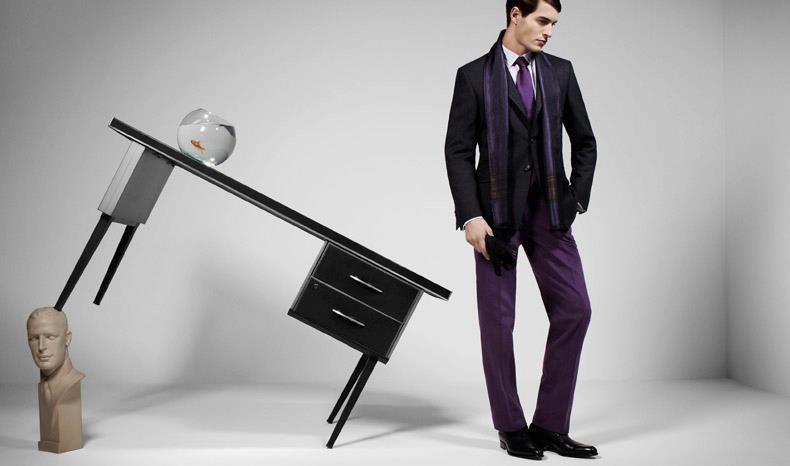 Beispiel: Der elegante Mann, Foto: Calkap - Atelier für Maßkonfektion.