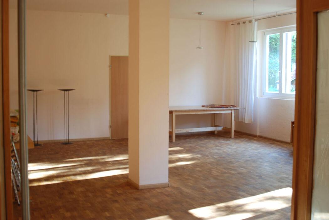 Beispiel: Raum Sonnenschein, Foto: Seminarhaus am Schönberg.