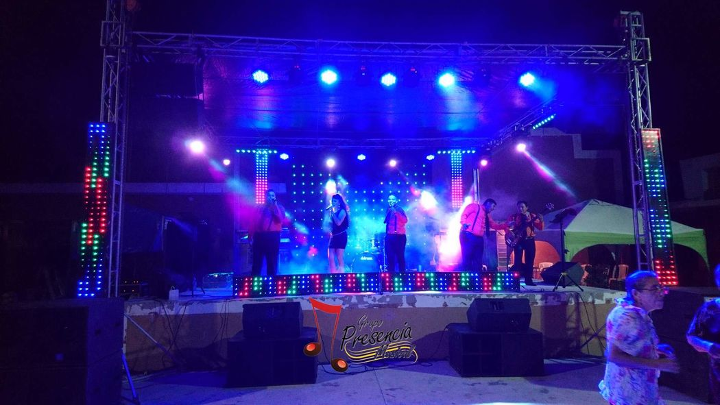 Grupo Show Presencia Musical