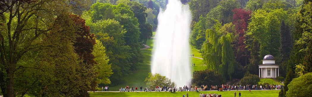 Beispiel: Bergpark, Foto: Kaskaden Wirtschaft Grischäfer.