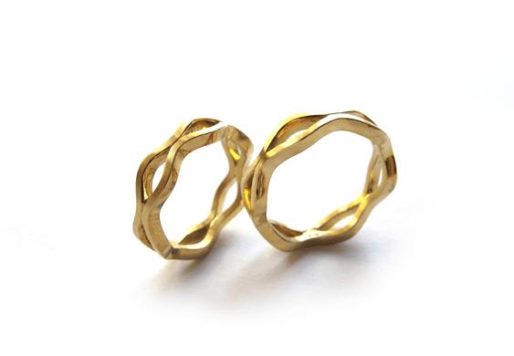 Beispiel: Trauringe - Gold, Foto: Goldschmiede Patricia Esser-Föhre.