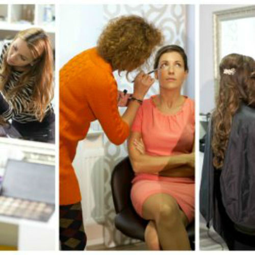 Beispiel: Braut-Make-up, Foto: Savi-Styling.