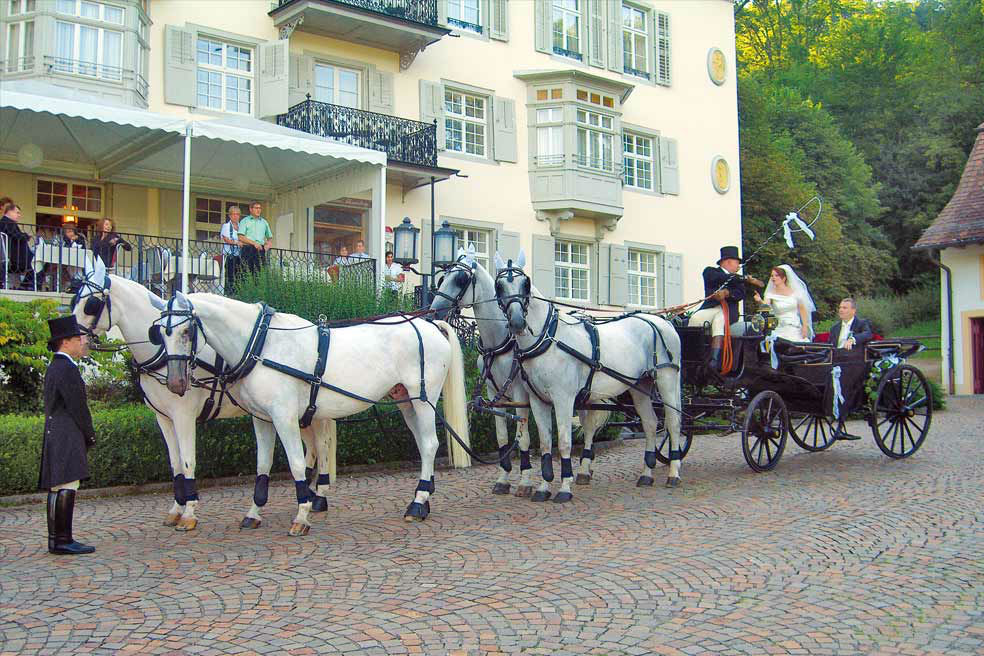 Beispiel: Ihre Hochzeit im Hotel, Foto: Bad Schauenburg.