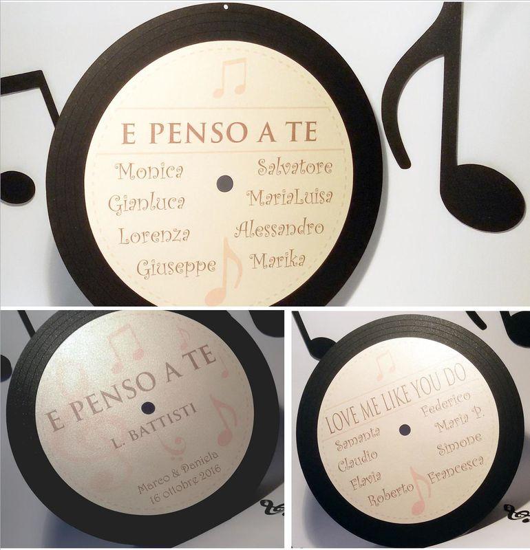 Tableau de Mariage - tema Musica