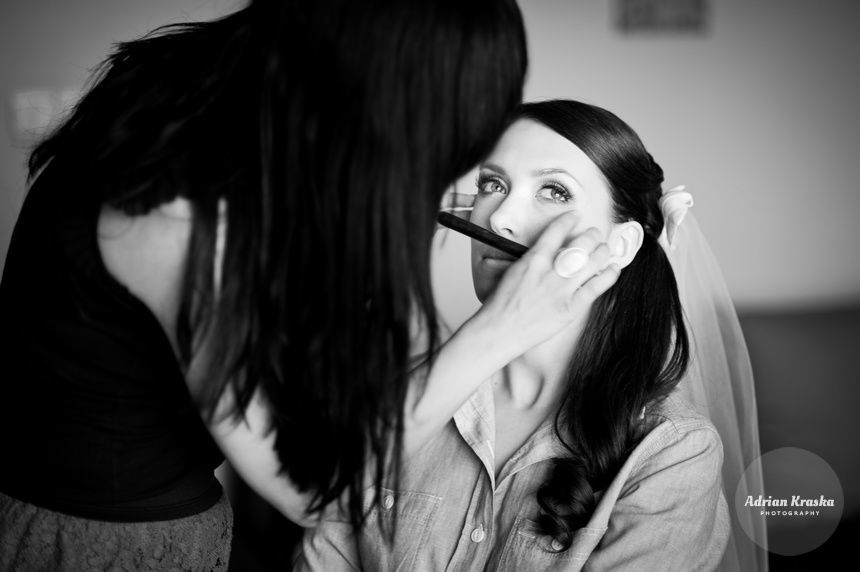 Makijaż ślubny u Panny Młodej