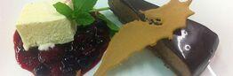 Beispiel: Süßspeisen, Foto: Seepferdchen's Catering.