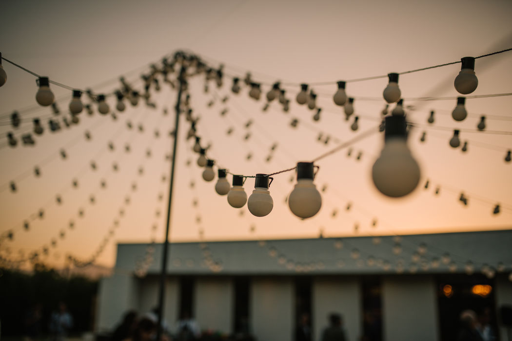 Weddings and lights