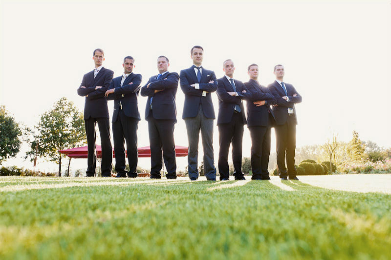 Beispiel: Portrait der Hochzeitsgäste, Foto: Sergej Falk.