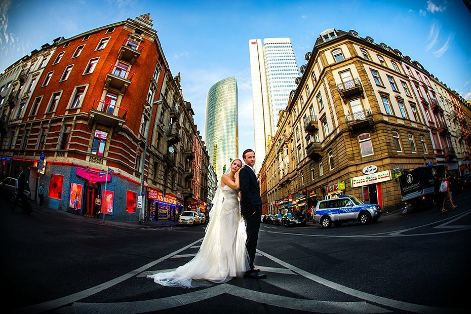 Als Hochzeitsfotograf in Frankfurt unterwegs - RAMAN-PHOTOS