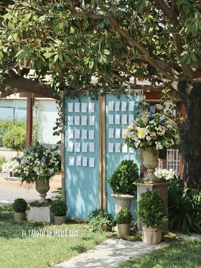 Diseño de bodas y eventos  todo entendido como un concepto a partir de vuestras ideas y gustos, por El Jardín de mamá Ana.