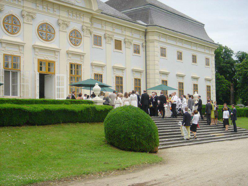 Beispiel: Agape im Schlosshof, Foto: Hotel Restaurant Knappenstöckl.
