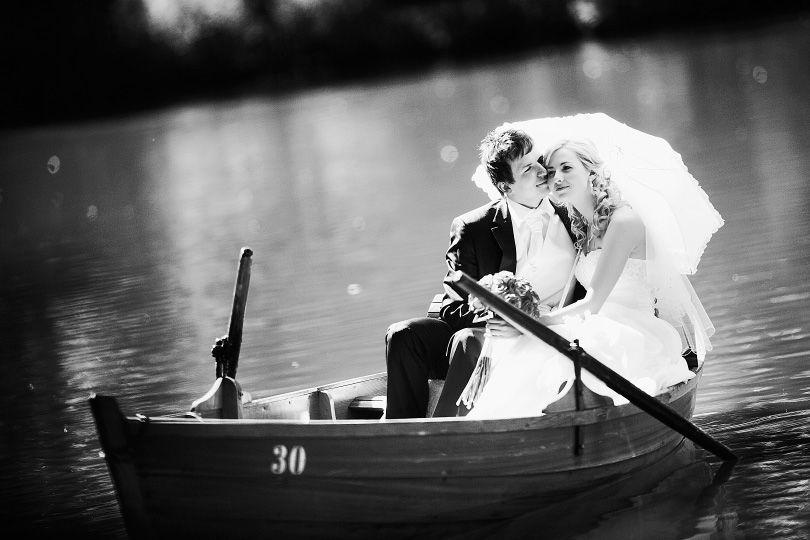 Beispiel: Romantische Hochzeitsfotos, Foto: Walkingonadream.