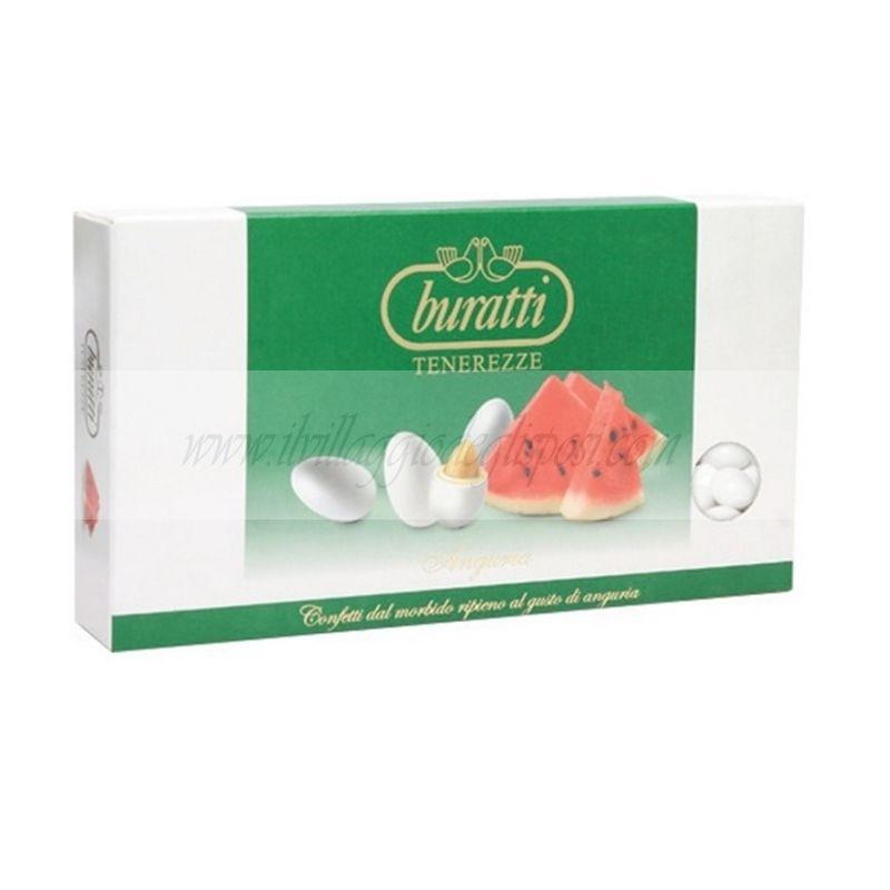 Un'ampia selezione di confetti e leccornie della prestigiosa ditta Buratti.