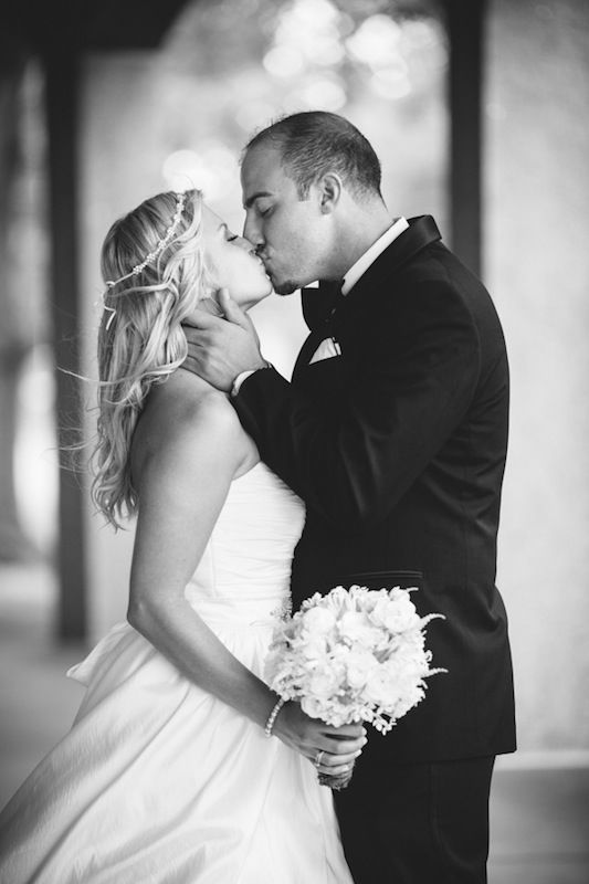 Beispiel: Romantische Hochzeitsfotos, Foto: Michaela Nichole Photography.