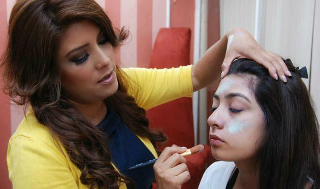 Erika Guevara, maquillista en Querétaro