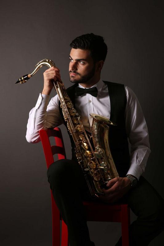 Antonio Pio D'avolio Saxophonist