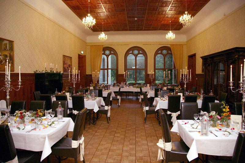 Beispiel: Räumlichkeiten für Ihre Hochzeitsfeier, Foto: Schloss Neetzow.
