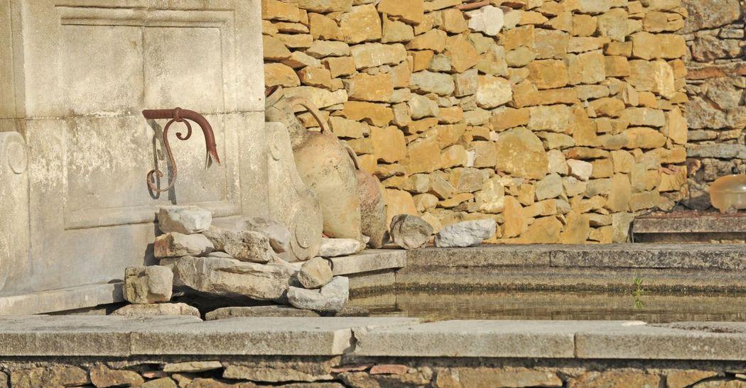 Fontaine en pierres
