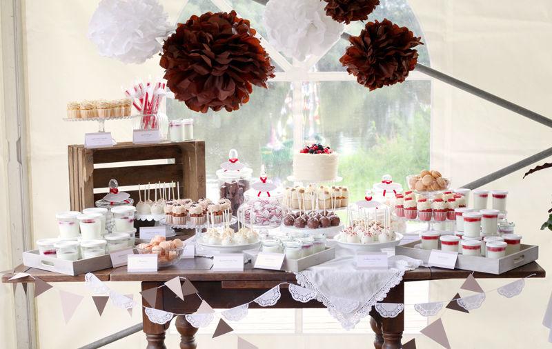 Beispiel: Candy Buffet Country Style, Foto: Zuckermonarchie.