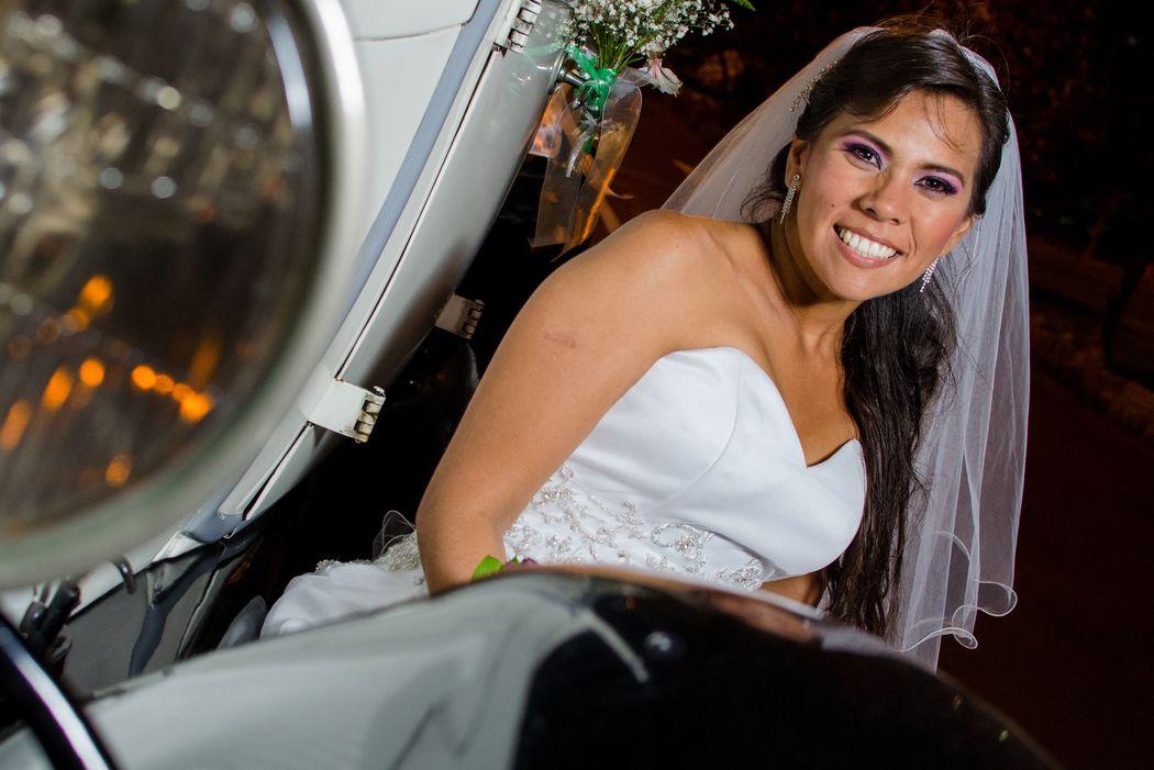 sonrisa de novia