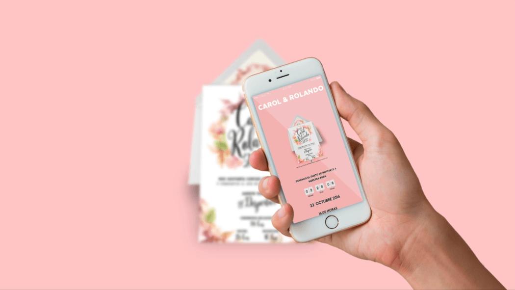 Invitaciones de boda digitales hechas para ustedes. Únicas en México. La manera más bonita y práctica de invitar a tus familiares y amigos. RSVP online, diseño único y más funciones. Conoce más en nuestromejordia.com