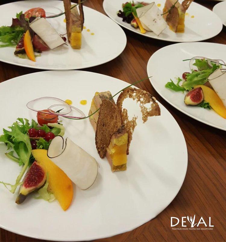 Entrée - Mille feuille de foie gras IGP Sud-Ouest