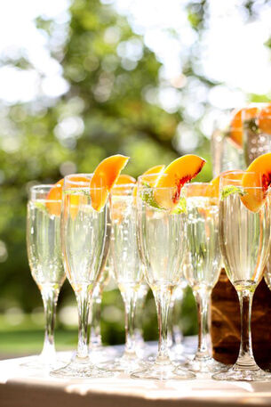 Champagne com Pêssego