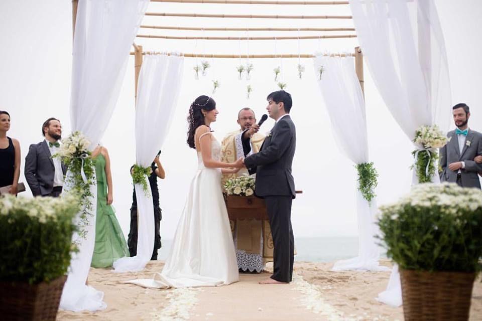 Casamento na Praia em Ubatuba - Assessoria Especializada