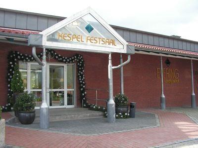 Beispiel: Eingang Kespelsaal, Foto: AKZENT Landgasthof Evering.
